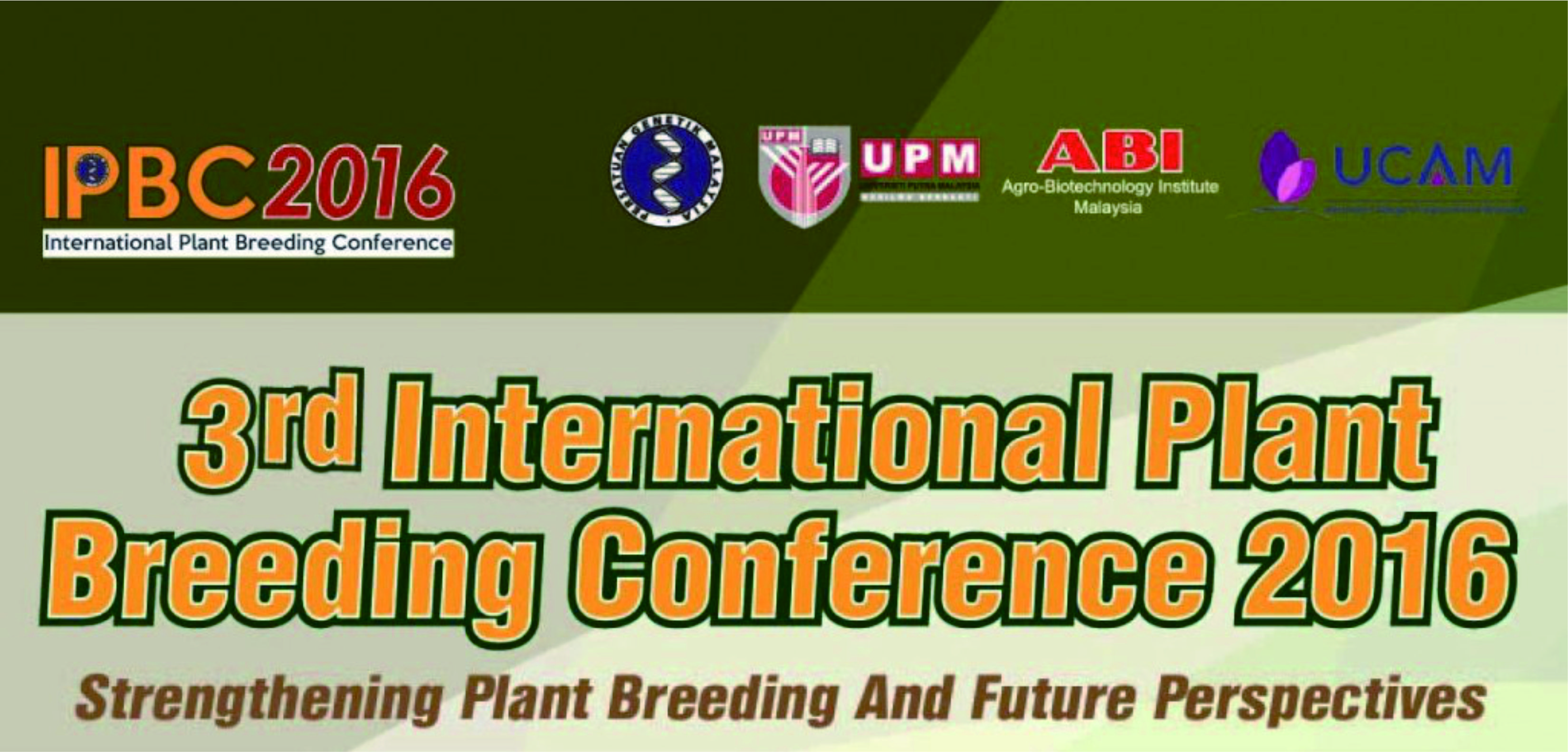 3rd International Plant Breeding Conference 2016 (IPBC 2016)