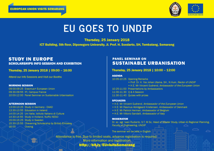 [CALL FOR PARTICIPANTS] EU GOES TO UNDIP