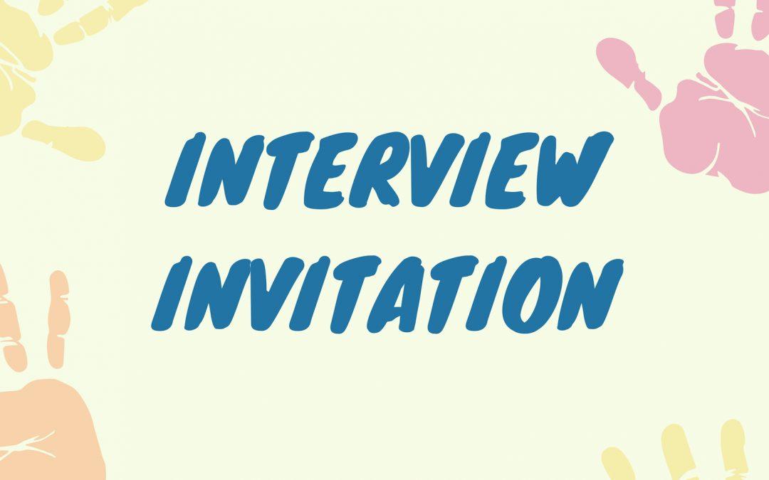 Interview Invitation