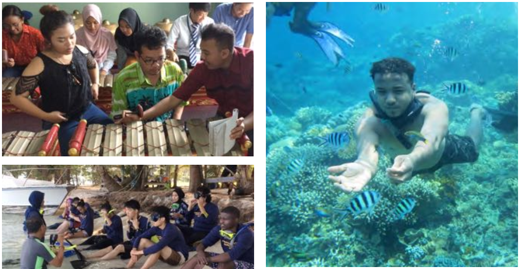 """Diponegoro University's Tropical Course and Student Exchange Program on """"Ecotourism and Sustainable Development in Coastal Region"""" 2019"""
