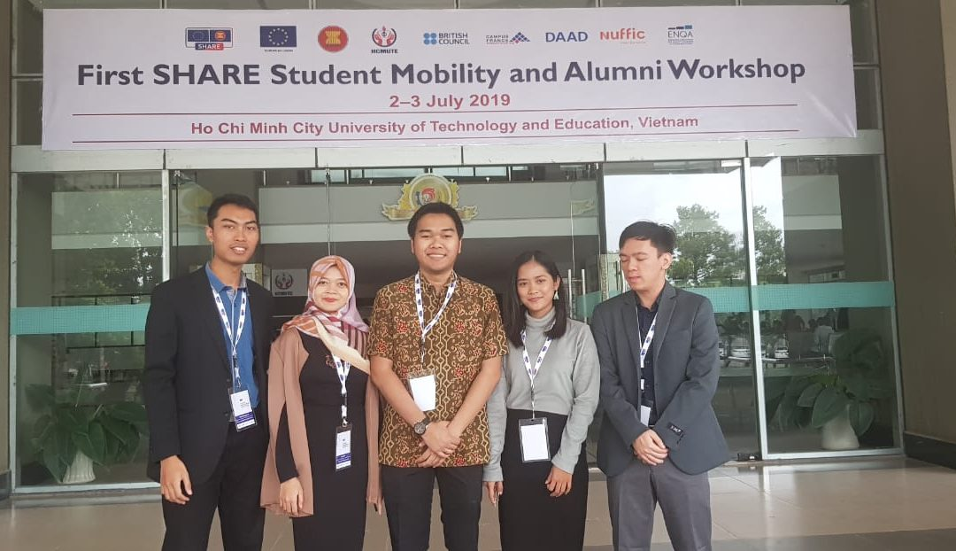 Universitas Diponegoro – The 1st SHARE Student Mobility and Alumni Workshop