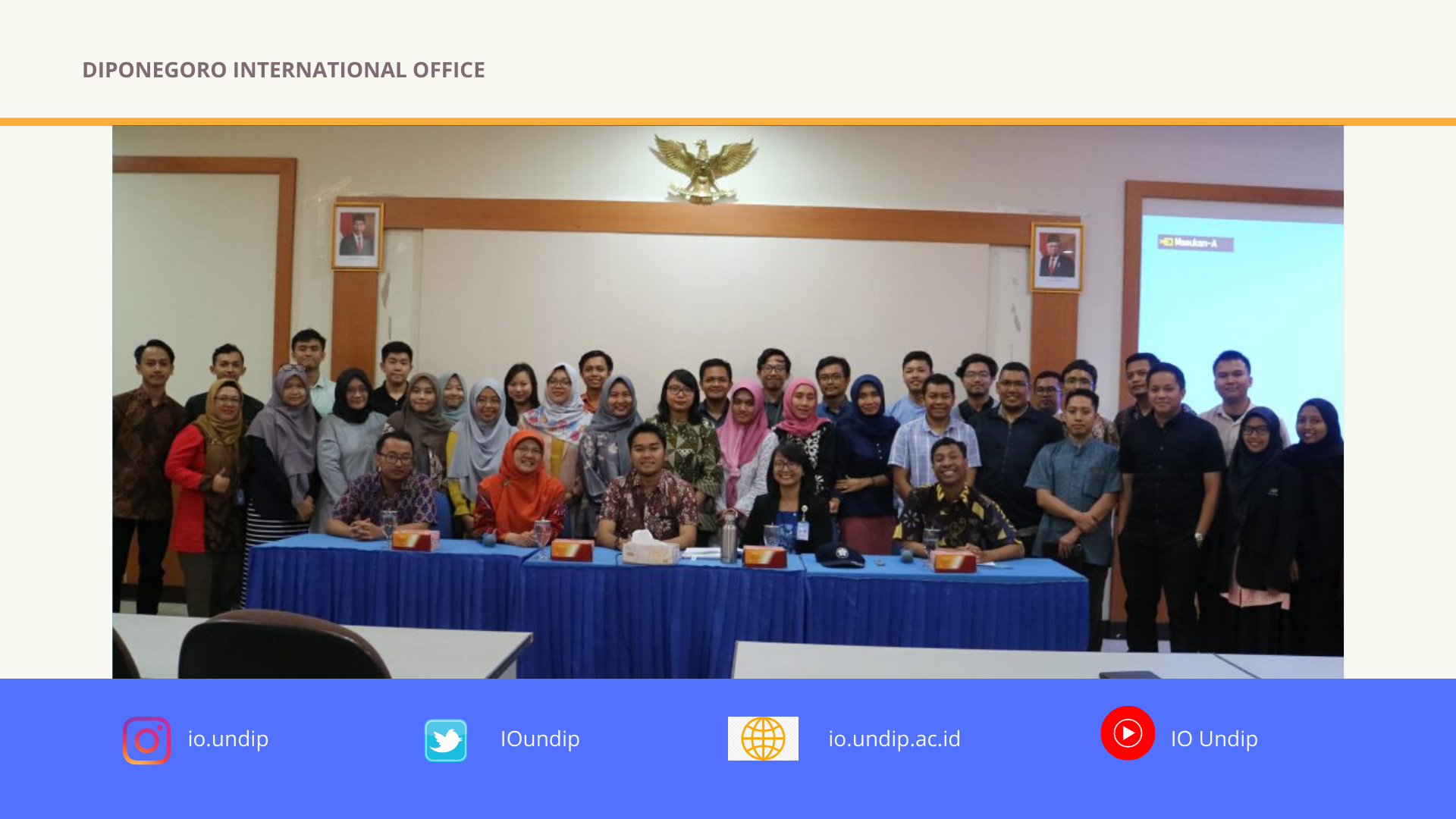 Diponegoro International Office holds Taiwan Education Expo 2020