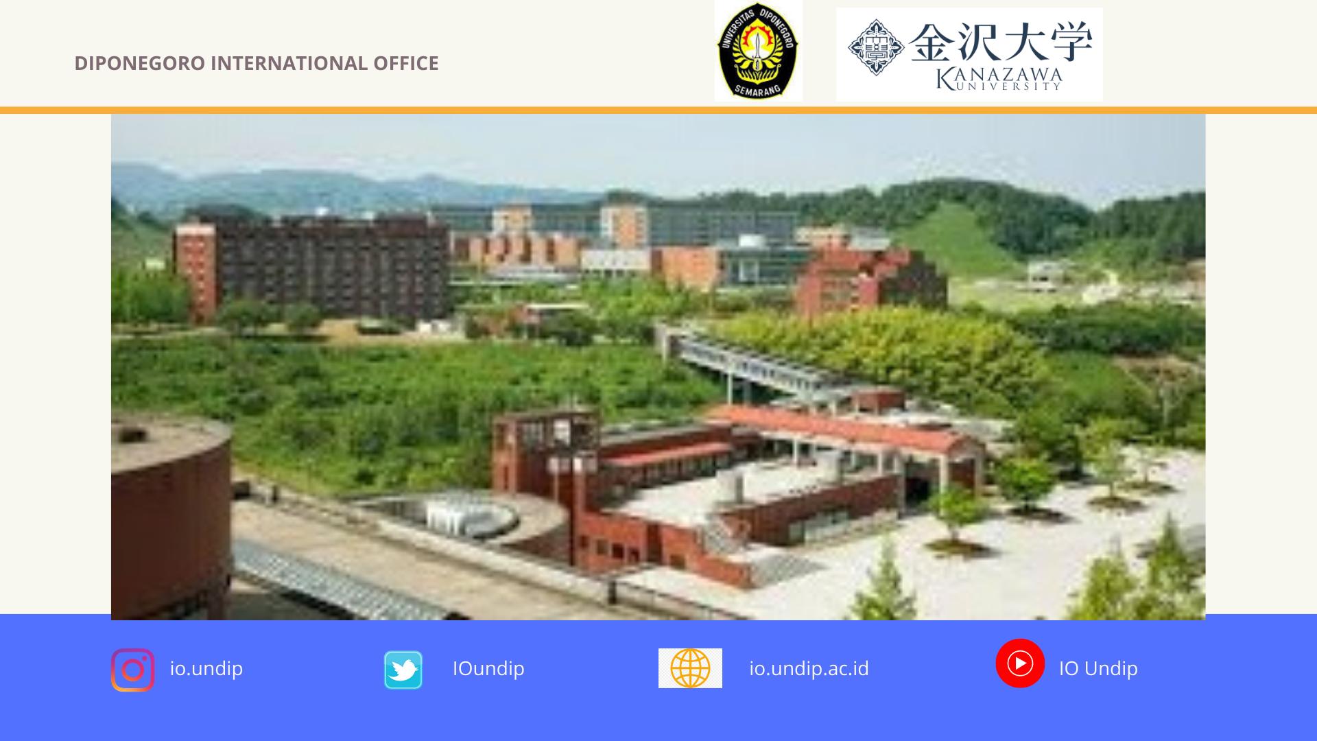 [call for application] Kanazawa University_Call for Short-Stay Program 2020-2021
