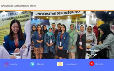 Diponegoro University Participates on Education Training & Scholarship Expo 2020