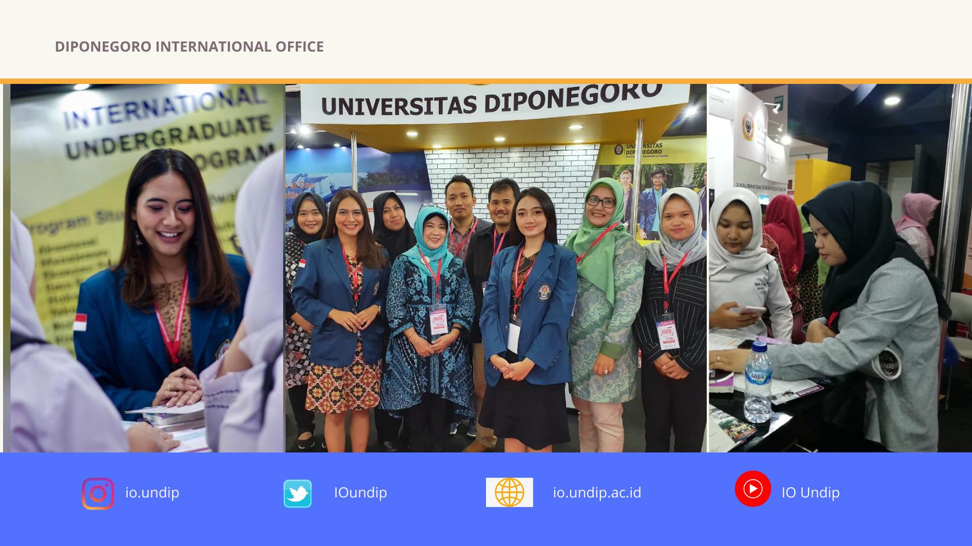 Diponegoro University Participates on Education Training & Scholarship Expo 2020