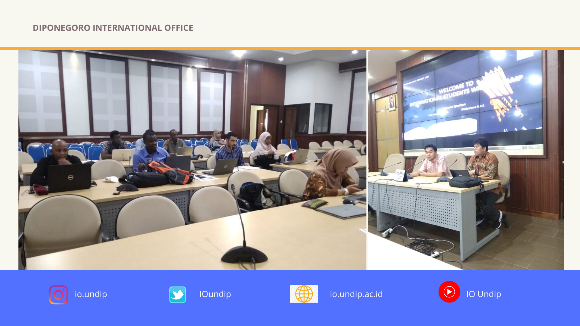International Students' Testimonial for ISWC 2020