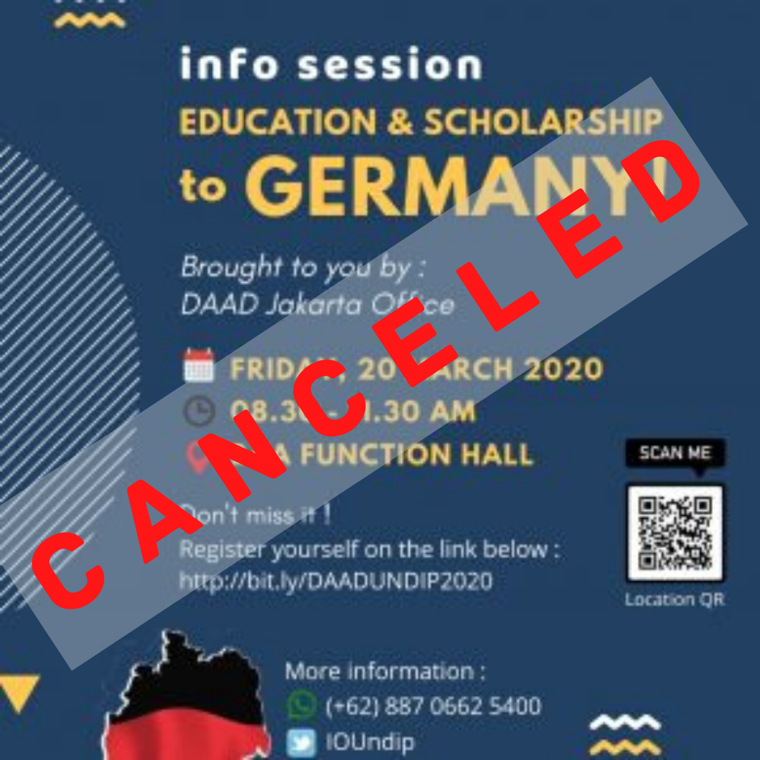 DAAD Education and Scholarship Info Session is CANCELED