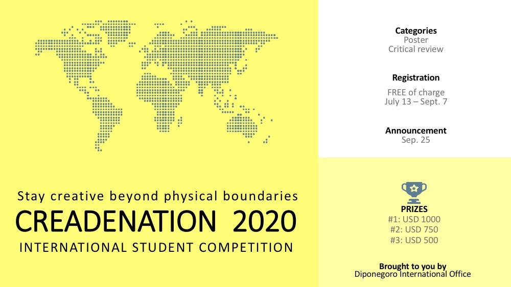 CREADENATION 2020 International Student Competition