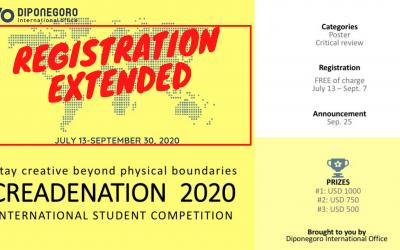 Creadenation 2020: Registration Extended!