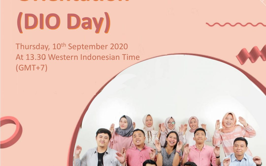DIO DAY: New International Students Orientation