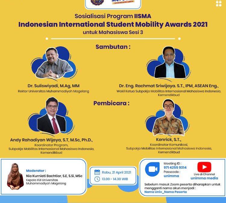 Webinar for IISMA