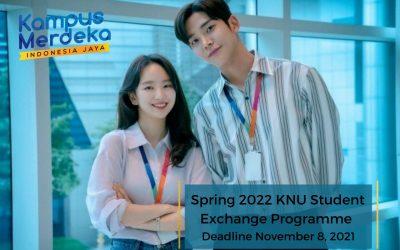 Kangwon National University (KNU) Spring Semester Exchange [deadline 8 November 2021]